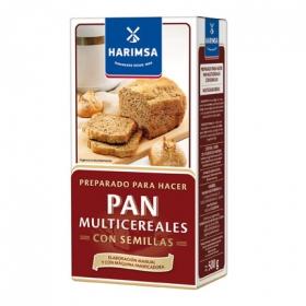 Harina especial pan multicereales con semillas