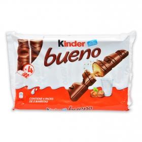 Barritas de chocolate con leche y crema de avellana