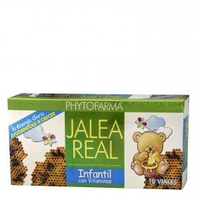 Jalea real infantil con vitaminas Phytofarma 10 ud.