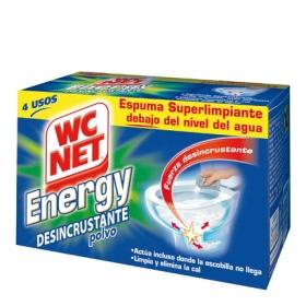 Espuma autolimpiante energy desincrustante WC Net 4 ud.