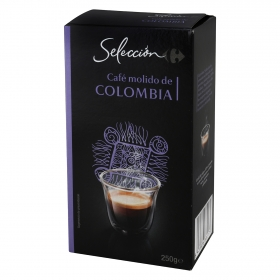 Café molido natural Colombia