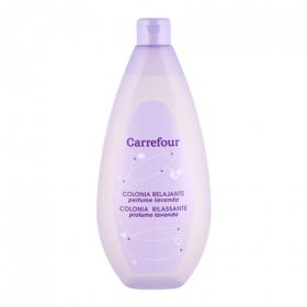 Colonia relajante perfume lavanda Carrefour 750 ml.