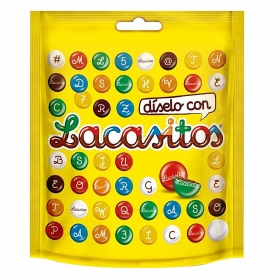 Grageas de chocolate Lacasitos Lacasa 190 g.