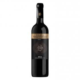 Vino D.O. Rioja tinto crianza Solar Samaniego 75 cl.