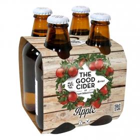 Sidra The Good Cider pack de 4 botellas de 25 cl.