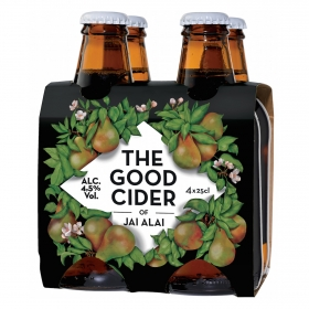 Sidra The Good Cider sabor pera pack de 4 botellas