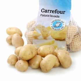 Patata lavada Carrefour malla 5 Kg