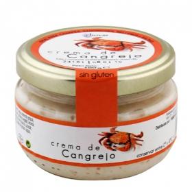 Crema de queso con Cangrejo especial para untar, salsas y rellenos