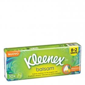 Pañuelos Balsam Kleenex 10 ud.