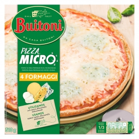 Pizza 4 quesos Buitoni 310 g.