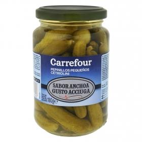 Pepinillos en vinagre sabor anchoa