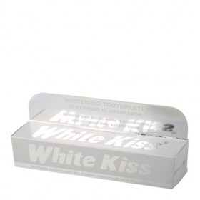 Dentífrico White kiss blanqueador 50 ml.