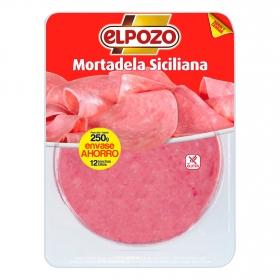 Mortadela siciliana El Pozo 250 g.