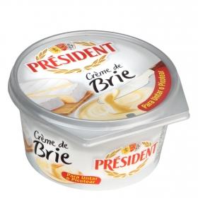 Crema de queso brie Président 125 g.