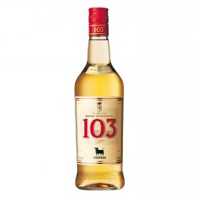 Brandy solera etiqueta blanca