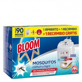 Insecticida eléctrico antimosquitos Bloom aparato + recambio
