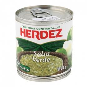Salsa verde Herdez 210 g.