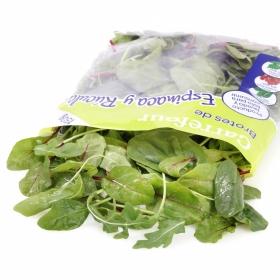 Brotes de espinacas - rúcula Carrefour bolsa 150 g