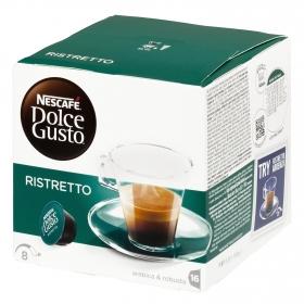 Café ristretto en cápsulas