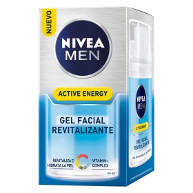 Active Energy Gel Facial Revitalizante Nivea Men 50 ml.