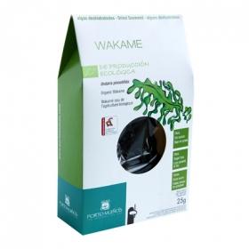 Alga wakame deshidratada