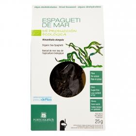 Alga espaguetti de mar deshidratadas ecológica Porto Muiños 25 g.