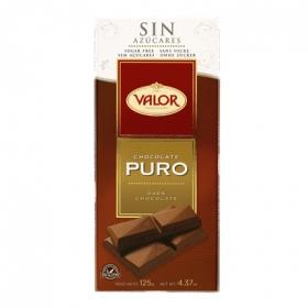 Chocolate puro 0% azúcares añadidos