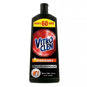 Limpiador de vitrocerámica en crema Vitroclen 450 ml.