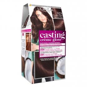 Tinte Créme Gloss nº 323 Chocolate Negro L'Oréal Casting 1 ud.