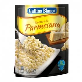 Risotto parmesana sobre Gallina Blanca 175 g.