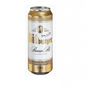 Cerveza Bitburger premium Pils lata 50 cl.