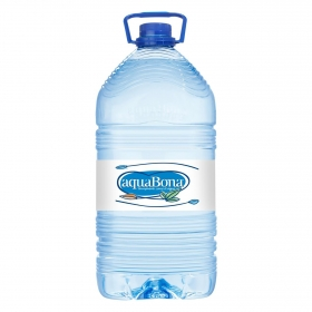 Agua mineral Aquabona natural 5 l.