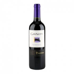 Vino chileno Cabernet Sauvignon tinto Gato Negro 75 cl.