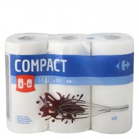 Papel de cocina compact