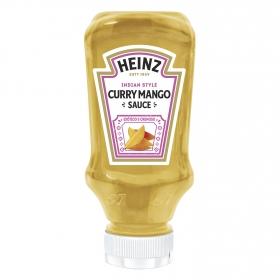 Salsa curry y mango Heinz envase 260 g.