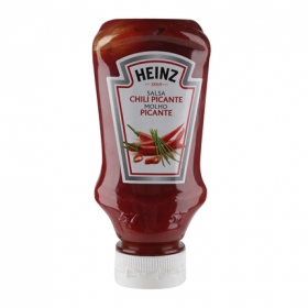 Salsa chili picante Heinz envase 260 g.