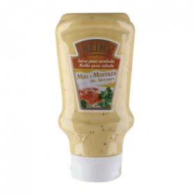 Salsa miel y mostaza Heinz envase 400 ml.