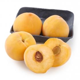 Melocotón amarillo selecta Carrefour bandeja 4 ud 1 Kg aprox