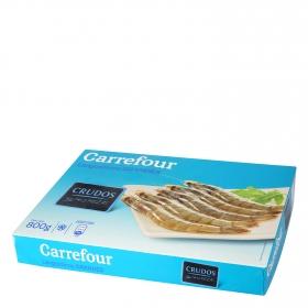 Langostino crudo Carrefour 800 g.