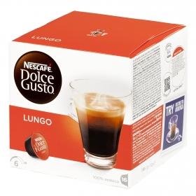 Café lungo en cápsulas