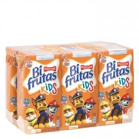 Zumo Bifrutas Kids pack de 6 briks de 20 cl.