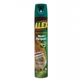 Limpiador atrapapolvo parquet Alex 750 ml.
