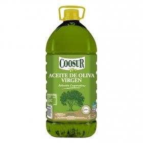 Aceite de oliva virgen Coosur garrafa 5 l.