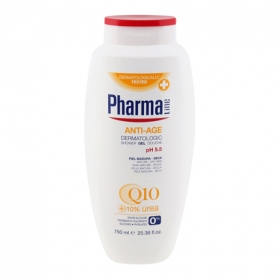 Gel dermatológico Anti-edad Q10 Pharmaline 750 ml.