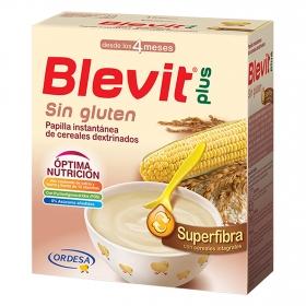 Papilla cereales Blevit plus Superfibra sin gluten 600 g.