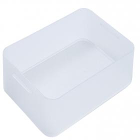 Caja de Plástico Pratik Box Carrefour Home A4 Baja - Transparente