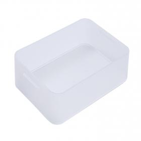 Caja de Plástico Pratik Box Carrefour Home A5 Baja - Transparente