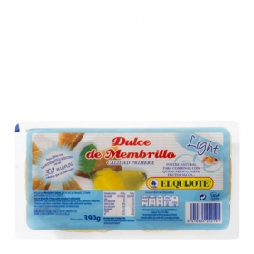 Dulce de membrillo light El Quijote 400 g.