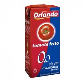 Tomate frito sin sal ni azúcares añadidos Orlando sin gluten brik 350 g.