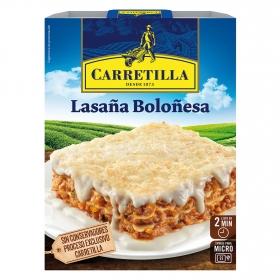 Lasaña de carne Carretilla 375 g.